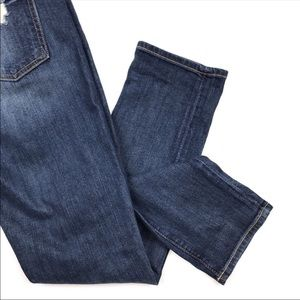 7 For All Mankind The Relaxed Skinny Destroy Jeans